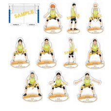 Haikyu!! Karasuno High vs Shiratorizawa Academy Big Acrylic Stand Collection Box Set