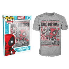 POP! Tees: Deadpool Chimichanga T-Shirt