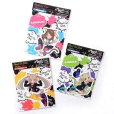 Street Cat Girls Stickers