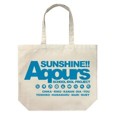 Love Live! Sunshine!! Aqours Large Tote Bag
