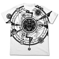 Tonitrus Magic Circle All-Over Print White T-Shirt