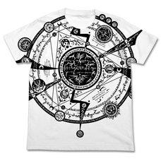 Tonitrus Magic Circle All-Over Print White T-Shirt