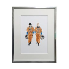 Space Brothers Exhibit Reproduction Art Print #7