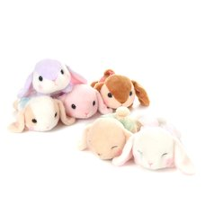 Pote Usa Loppy Gorone Hiyori Rabbit Plush Collection (Standard)