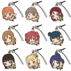 Love Live! Sunshine!! Tsumamare Strap Collection Box Set