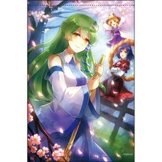 Touhou Project B2 Tapestry Vol. 29: Moriya Family