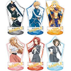 Sword Art Online: Alicization Big Acrylic Stand Collection Box Set