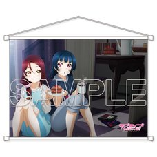 Love Live! Sunshine!! Cover Girl General Election Riko Sakurauchi & Yoshiko Tsushima B2-Size Tapestry