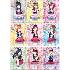 Love Live! Sunshine!! The School Idol Movie: Over the Rainbow Clear File Set