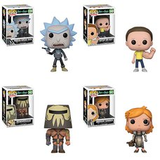 Pop! Animation: Rick and Morty - Complete Set