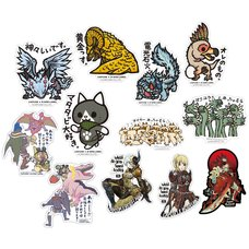 Capcom x B-Side Label Monster Hunter: World Sticker Collection