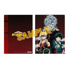 My Hero Academia Charaby Front Cover Art Clear File