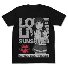 Love Live! Sunshine!! Dia Kurosawa Black T-Shirt