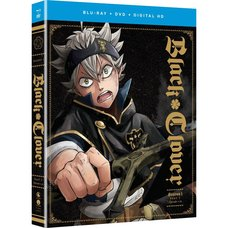 Black Clover Season 1 Part 1 Blu-ray/DVD Combo Pack