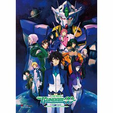 Gundam 00 Key Art Fabric Poster