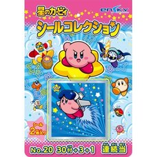 Kirby Super Star Sticker Collection