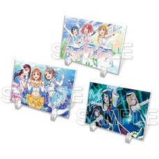 Love Live! General Magazine Vol. 1: Love Live! Sunshine!! Acrylic Plate Collection