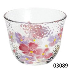 Hana Hitohira Glass Iced Tea Cup