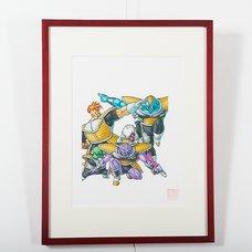 Akira Toriyama Reproduction Art Print - Dragon Ball: The Complete Edition 19