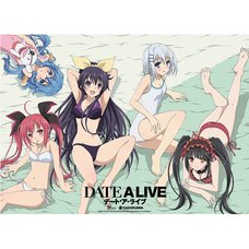 Date A Live Main Heroines w/ Kurumi in Swimwear Wall Scroll