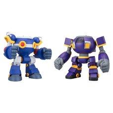 Super Mini Pla Mega Man Ride Armor Box Set