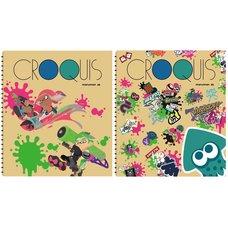 Croquis Splatoon 2 Square Sketch Pads