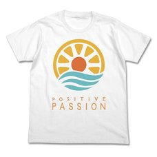 The Idolm@ster Cinderella Girls Positive Passion White T-Shirt