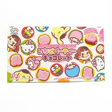 Peko x Sanrio Characters Strawberry Party Chocolate