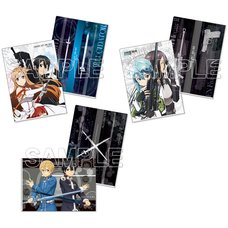 Sword Art Online Weapons Clear File Set