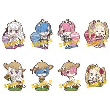 Re:Zero -Starting Life in Another World- Summer Rubber Strap Collection Box Set