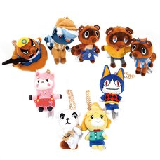 Animal Crossing All Star Ball Chain Plush Collection