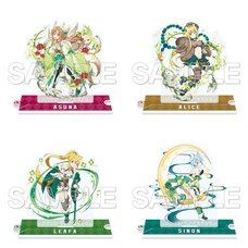 Sword Art Online: Memory Defrag Acrylic Figure Mofutto Kemomimi Selection
