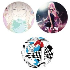IA x Jin Tin Badge Set