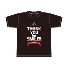 The Idolm@ster Million Live! 4th Live: Th@nk You for Smile!! Official T-Shirt