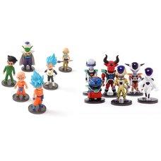 Dragon Ball Z: Resurrection 'F' World Collectable Figure Collector's Set