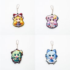 Touhou Project Akaneya Rubber Keychains Vol. 5