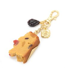 Marché du Q-pot. Pound Cake Bag Charm