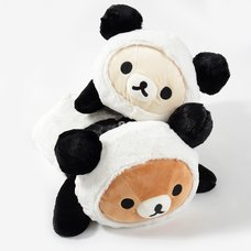 Rilakkuma Panda de Goron Huggable Plush Collection (Prone)