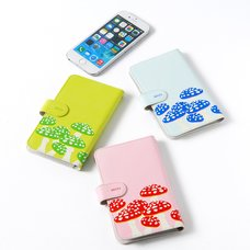 Magnet Party Scene Mushroom Flip-Style Smartphone Case