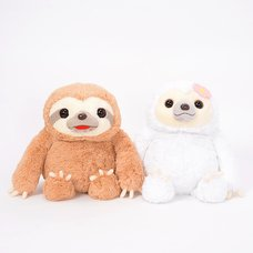 Namakemono no Mikke & Friends Sloth Plush Collection (Big)
