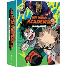 My Hero Academia: Season 2 Part 2 Blu-ray/DVD Combo Pack w/ Digital Copy Limited Edition