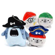 Same-Z Ball Chain Pirate Plush Collection