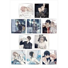 10 Count Trading Mini Shikishi Board Collection Box Set