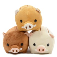 Wild Boar Plush Collection