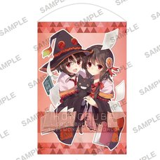 KonoSuba: God's Blessing on This Wonderful World! Bakuen Fair Megumin & Yunyun B2-Size Tapestry