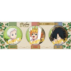 Promised Neverland Emma & Norman & Ray Badge Collection Box Set