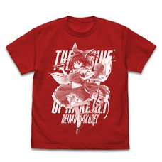 Touhou Project Reimu Hakurei: Eretto Ver. Red T-Shirt