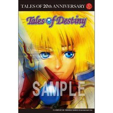 Tales of 20th Anniversary Postcard: Tales of Destiny