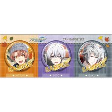 IDOLiSH 7 Mitsuki & Sogo & Gaku Pin Badge Set