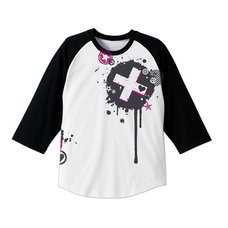 The Idolm@ster Million Live! Julia White x Black Raglan T-Shirt